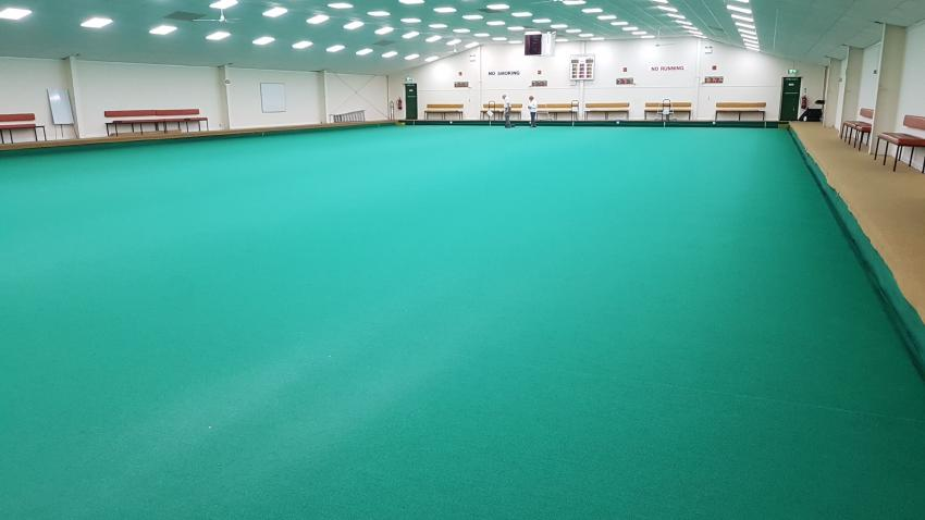 Bowls Club photo of how it looks inside