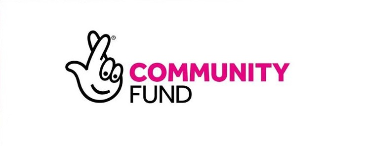 National Lottery Community Fund logo (fingers crossed) image
