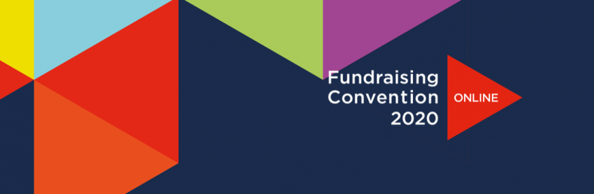 Text saying Fundraising convention
