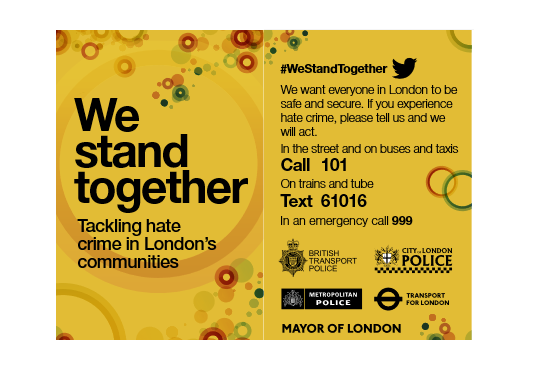 Hate Crime information