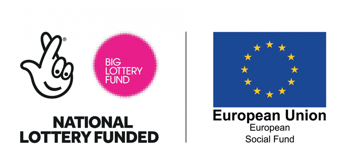 Lottery and ESF funded