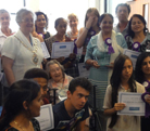 The Mayor of Redbridge presents volunteering awards