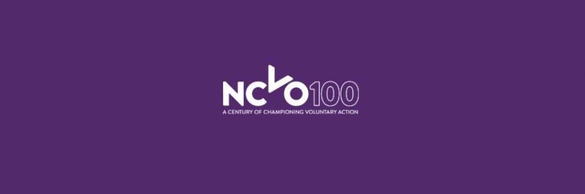 NCVO banner text and logo