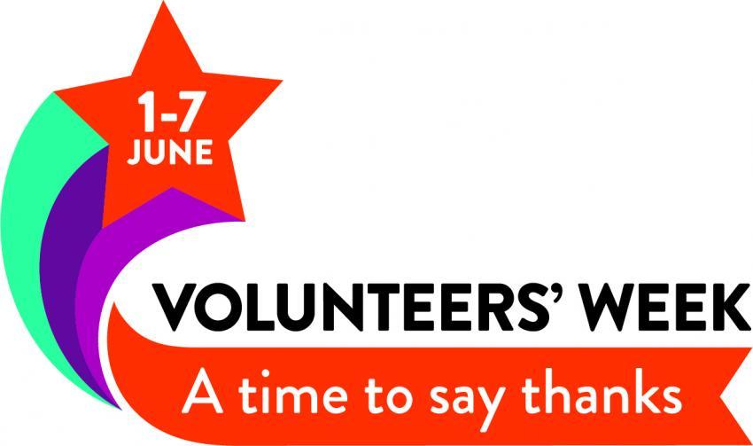 Volunteers Week - a time to say thanks