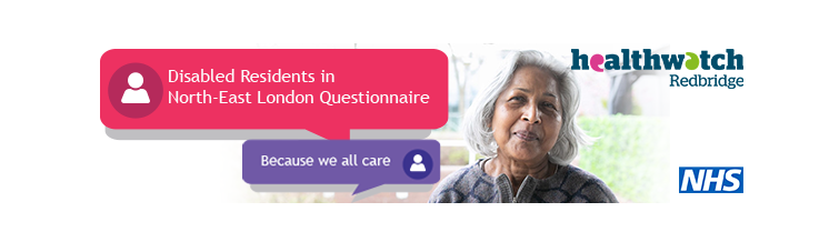 Healthwatch image showing a middle age lady on the image