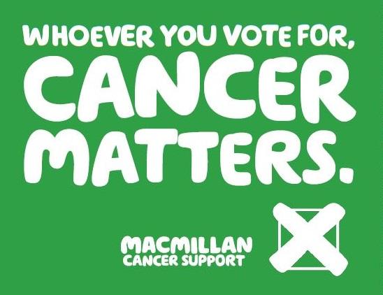 Macmillan campaign banner