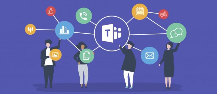 Microsoft Teams graphic