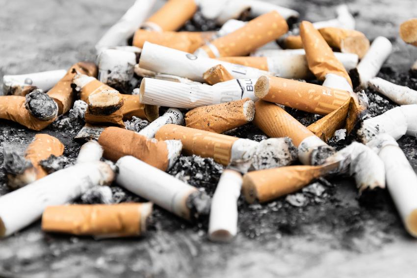 Lots of cigarettes together