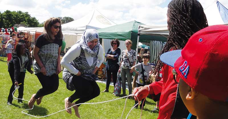 Fit for Fun at the Green Fair