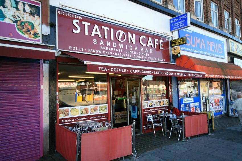 Gants Hill Station Cafe
